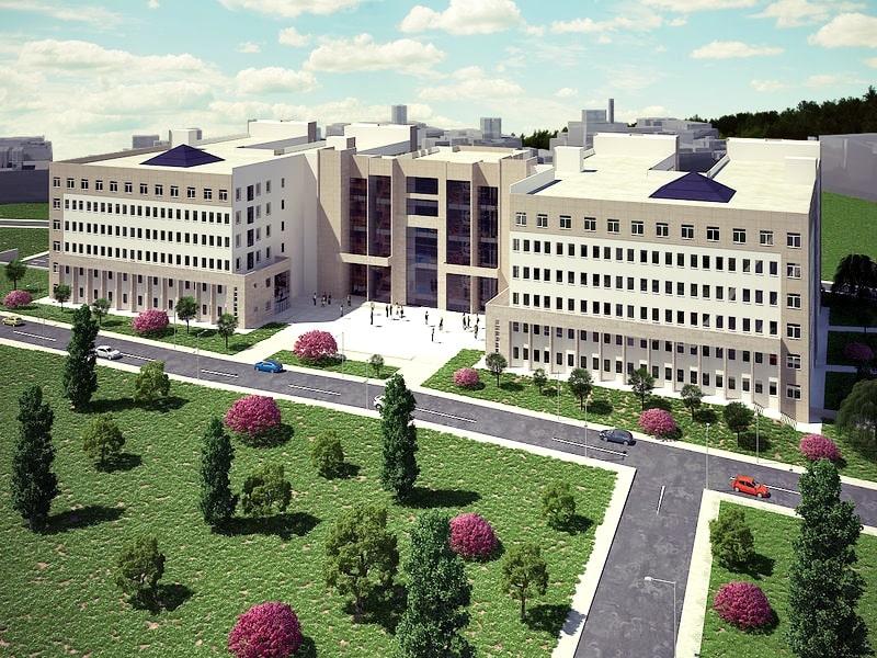 Giresun Üniversitesi Güre Kampüsü Toki Binaları