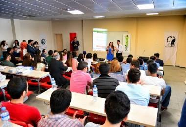 Giresun Blog Proje Yöneticisi Fatih Özdemir, GRÜ'de projemizi anlattı