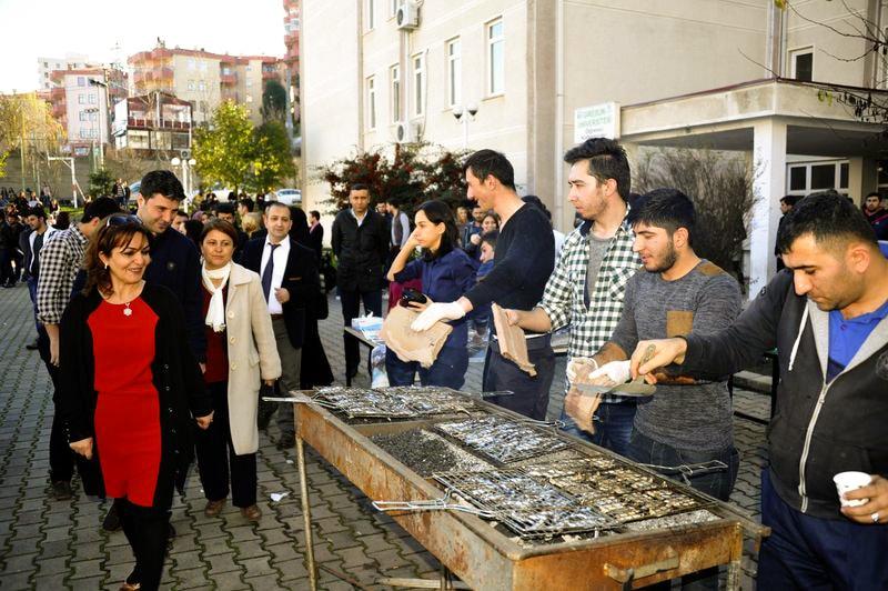 Giresun Üniversitesi Hamsi Şenliği
