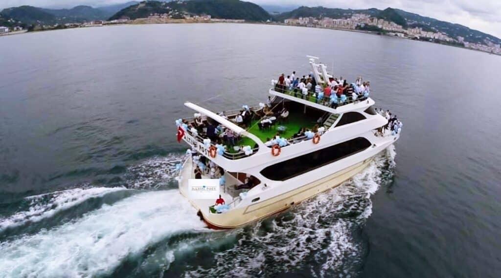 Giresun Adası Altın Post Yat-Tekne