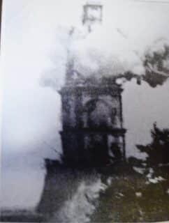 Giresun Metamorfoz Kilisesi ve Çan Kulesi yıkılışı
