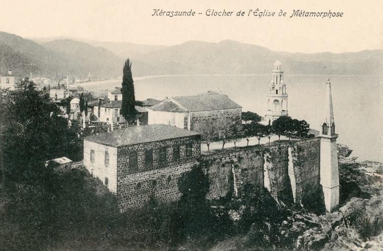Giresun Metamorfoz Kilisesi ve Çan Kulesi