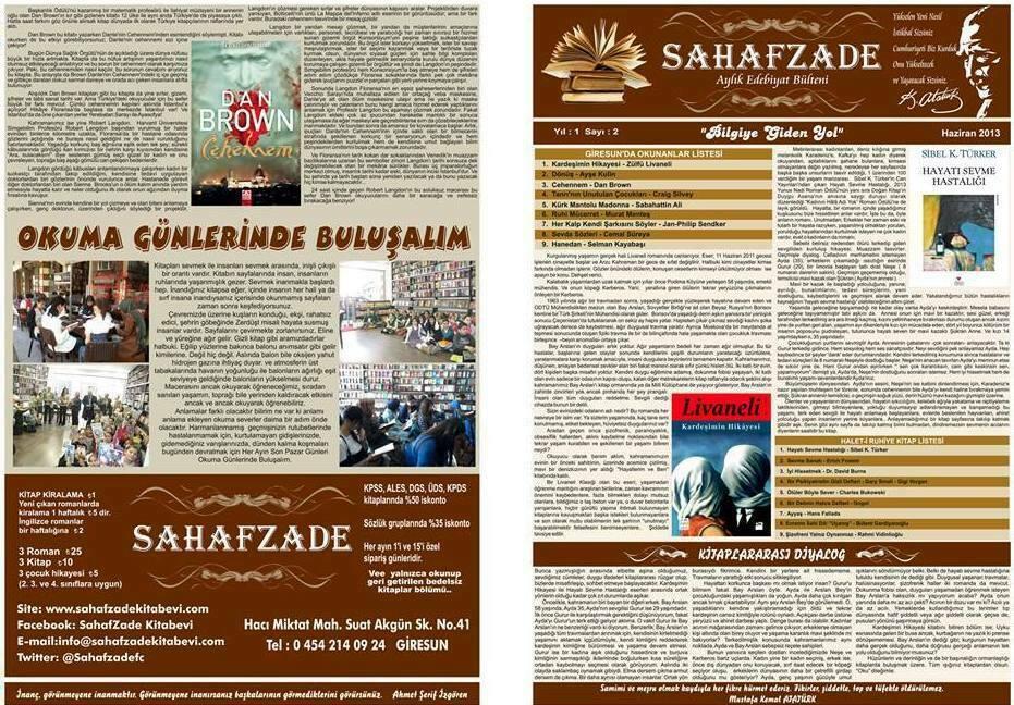 Haziran 1. ve 4. Sayfa