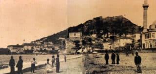 Giresun'un eski zamanlarda çekilmiş şehir merkezi