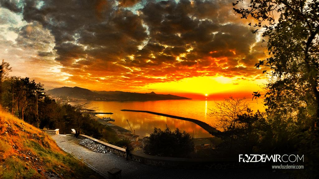 Giresun Kalesi Günbatımı